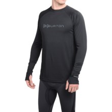 Burton [ak] Polartec® Power Grid® Base Layer Top - UPF 50+, Long Sleeve (For Men) in True Black - Closeouts